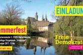 Einladung zum Sommerfest der FDP OWL